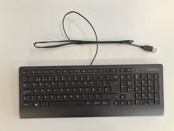 OEM Wired Keyboard Qwerty Spanis Layout
