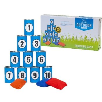 Outdoor Play Throwing Cans
