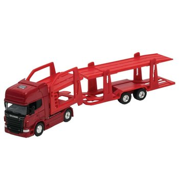 Welly Scania Transporter 1:64 Rood