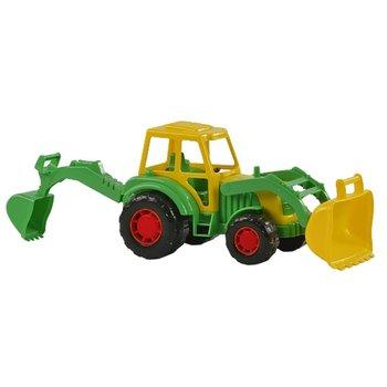 Tractor met Voor-en Achterlader