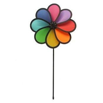 Rhombus Flower Regenboog Windvanger 42 cm