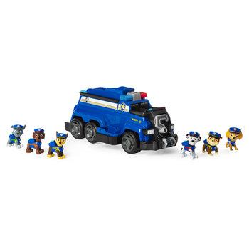 Paw Patrol Total Team Rescue Chase's Politieteam Speelset + Licht