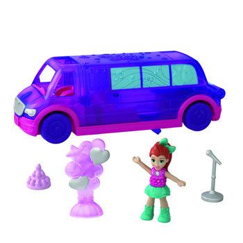 Mattel Polly Pocket Pollyville Limousine + Figuur en Accessoires