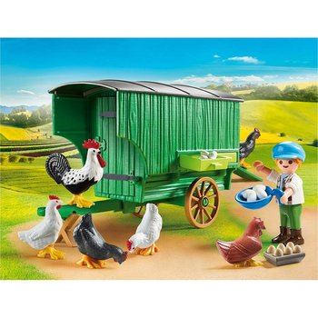 Playmobil 70138 Country Kind met Kippenhok
