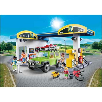 Playmobil 70201 City Life Tankstation