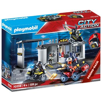 Playmobil 70338 City Action SEK Hoofdkantoor Koffer + Licht