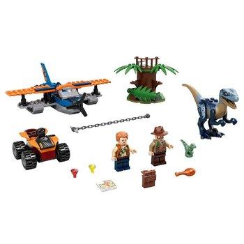 Lego Jurassic World 75942 Velociraptor Reddingsmissie