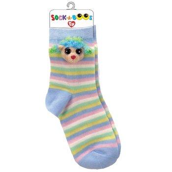 TY Fashion Sokken Poedel Rainbow