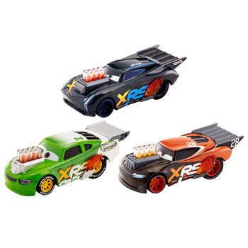 Disney Cars Drag Race Auto's 3 Stuks