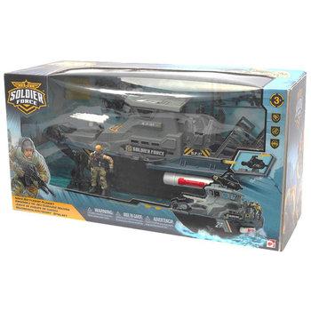 Soldier Force Marine Gevechtsschip Speelset
