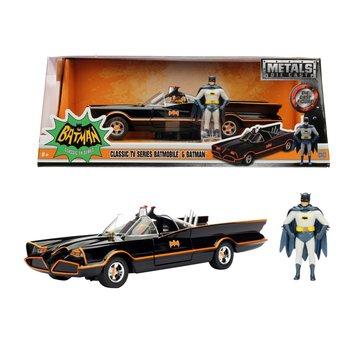 Die-Cast Batmobile 1966 + Figuur