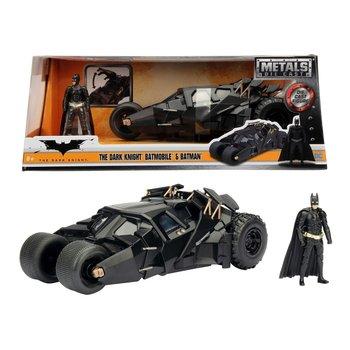 Metals Die-Cast The Drak Knight Batmobile 2008 + Figuur