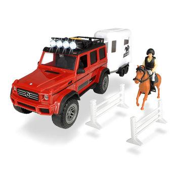 Dickie Toys Jeep en Paardentrailer met Licht en Geluid 18-delig