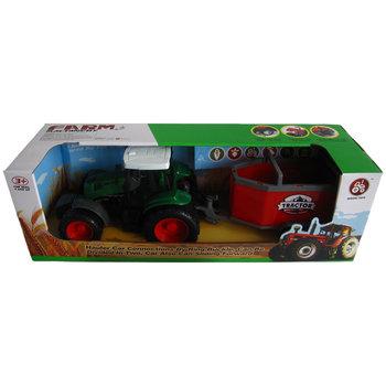 Mingri Toys Farm Machinery Tractor met Aanhanger Assorti