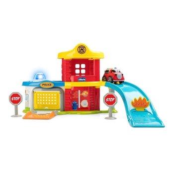 Chicco Hoofdkwartier Reddingsteam met Licht en Geluid + Brandweerauto
