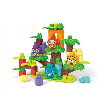 Mega Bloks First Builders Jungle Boomhut Band + Geluid