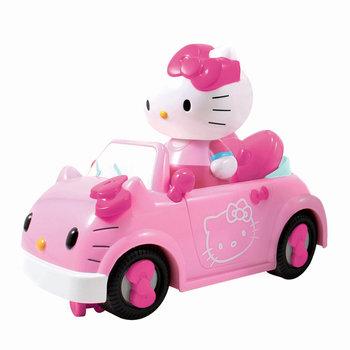 Hello Kitty RC Cabrio met Figuur