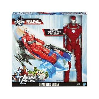 Hasbro Marvel Avengers Iron Man + Voertuig