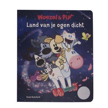 Leopold Kartonboek Woezel en Pip Land Van Je Ogen Dicht