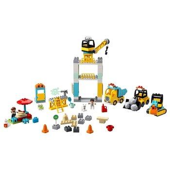 Lego Duplo 10933 Torenkraan en Bouwterrein + Licht en Geluid