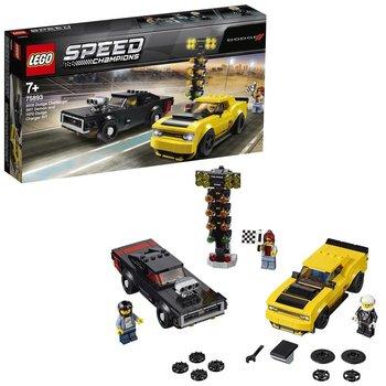 Lego Champions 75893 2018 Dodge Challenger SRT Demon + 1970 Dodge Charger R/T