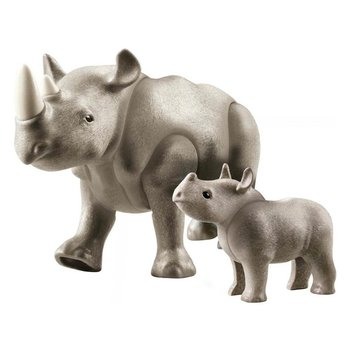 Playmobil 70357 Family Fun Neushoorn met Baby