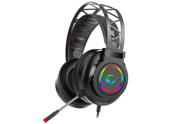 Rampage Miracle-X5 Siyah RGB LED 7.1 - Surround sound systeem headset met microfoon