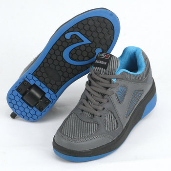 Mapleaf Fashion Roller Sneakers 38 Grijs/Blauw