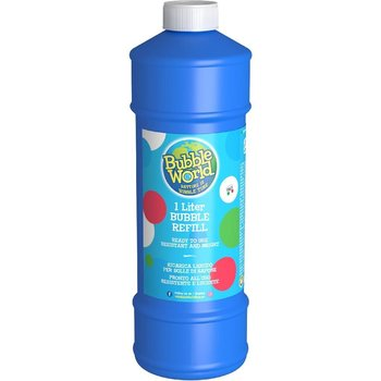 Bubble World Bellenblaas Navulfles 1000 ml Assorti