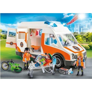 Playmobil 70049 City Life Ambulance met Licht en Geluid