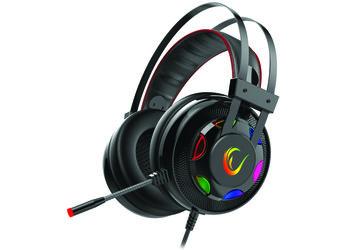 Rampage Miracle-X1 7.1 gaming headset met RGB verlichting - PC - Surround Sound