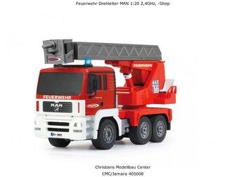Jamara Fire Engine Turn. Ladder MAN 1:20 2,4GHz