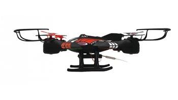 Jamara JAM-422001 RC Drone Loky FPV 4+4-Kanaals RTF /Foto/Video/Verlichting/360 Draaibaar/Zwart