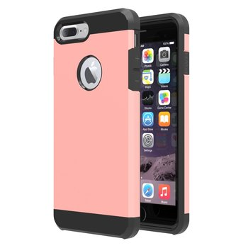 Tuff Luv Twin Armour TPU case voor iphone 7 Plus - Rose Goud