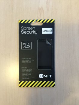 Unit Screen Protector voor Samsung S5 Mini - Transparant