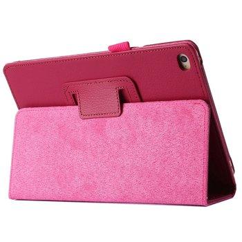 Tuff-luv - Faux leren beschermhoes voor de Apple iPad pro 12.9 inch - roze