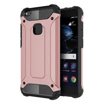 Tuff-luv - Tough armour case in 2 lagen voor de Huawei P10 lite - roze goud