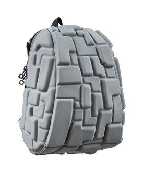 MadPax Blok Half Rugzak - Laptoptas 15 inch Grijs