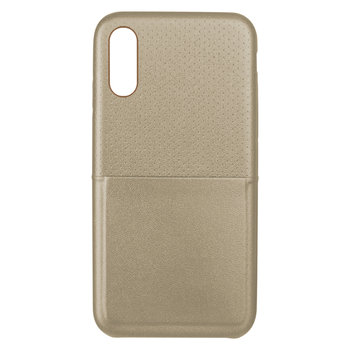KSIX Gestipte Cover - iPhone X - Goud