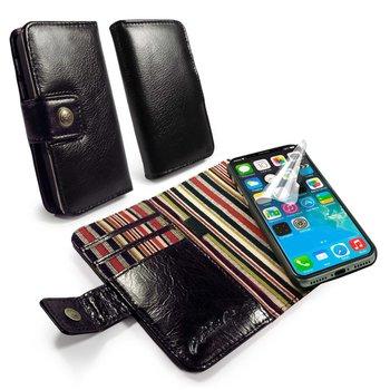 Alston Craig - Wallet style case voor de Apple iPhone X - zwart