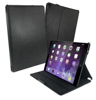 Tuff-luv - Faux leren beschermhoes voor de Apple iPad pro 10.5 inch - zwart