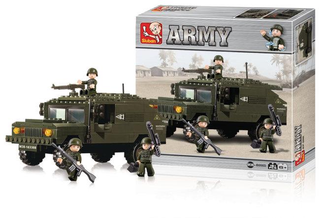 Sluban M38-B9900 Army Terreinwagen