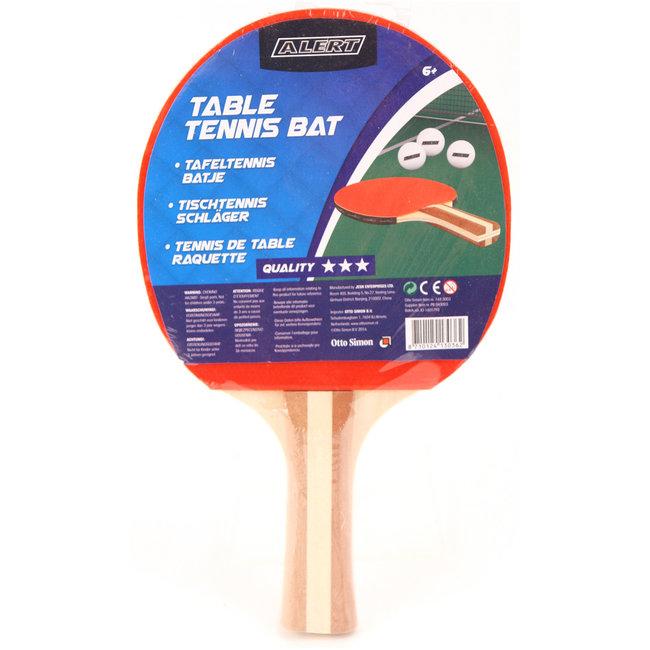 Alert Tafeltennis Bat 3 Sterren