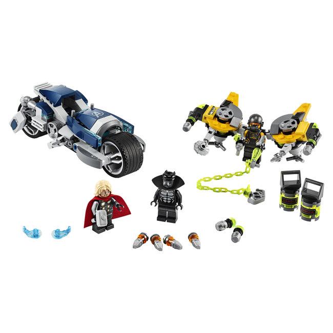 Lego Marvel Avengers 76142 Black Panther Motor
