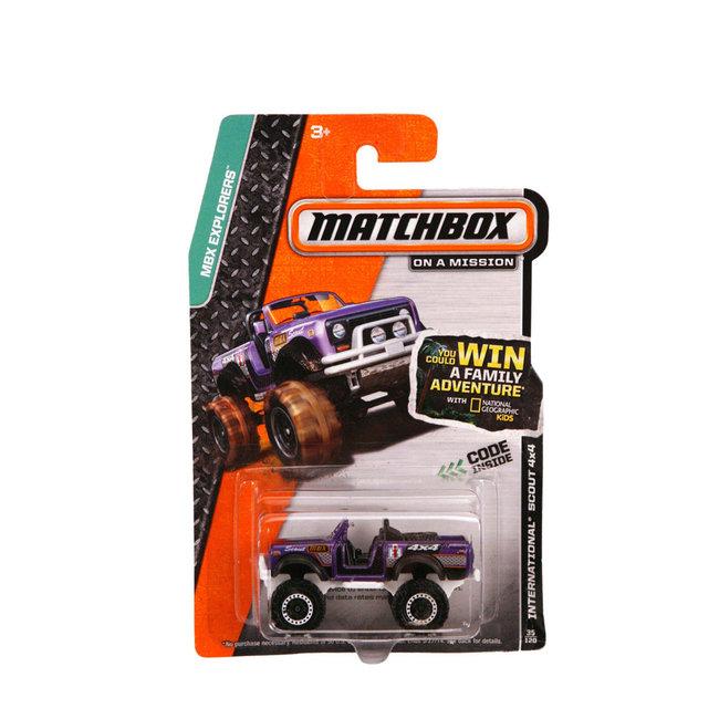 Mattel Matchbox Die-Cast Auto Assorti
