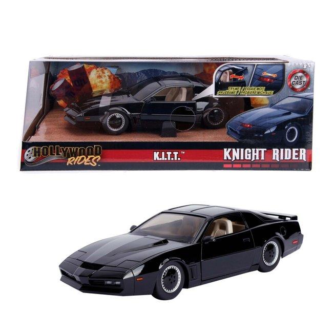Hollywood Rides Die-Cast Knight Rider K.I.T.T. + Licht