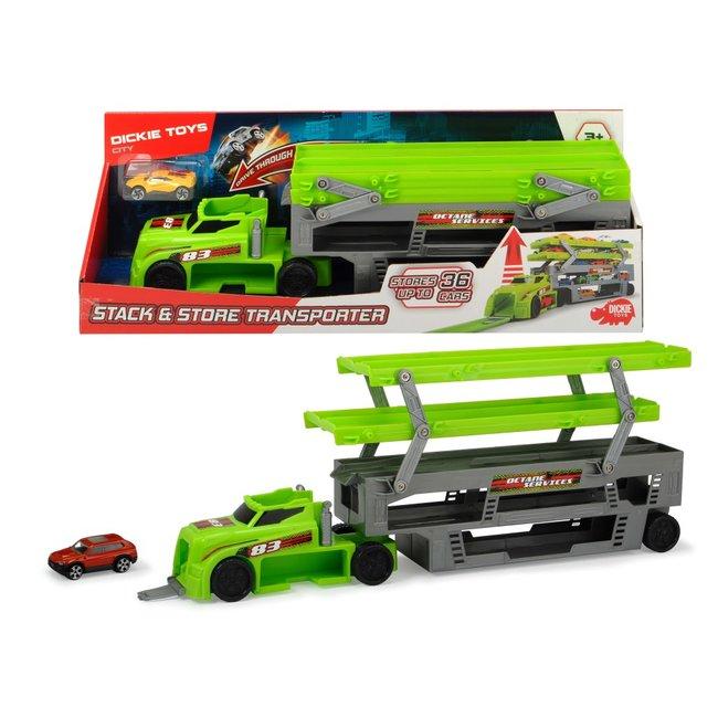 Dickie Toys Autotransportwagen met 1 auto