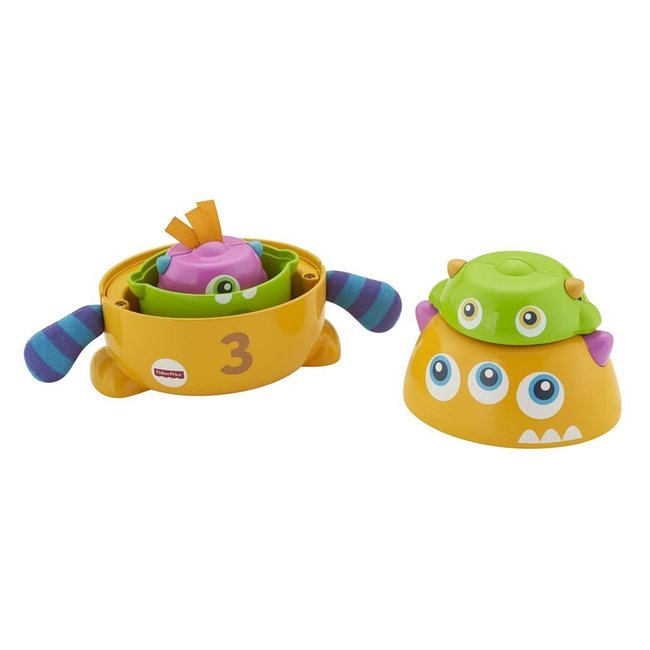 Fisher Price Stack and Nest Monsters