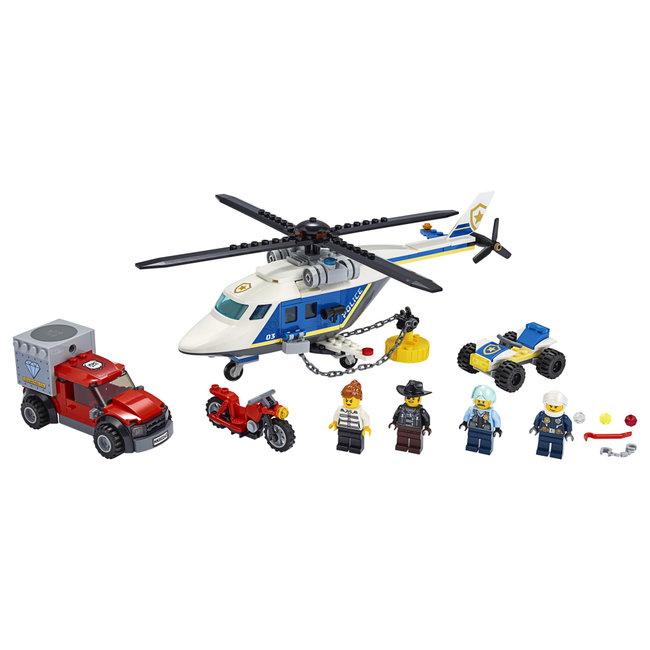 Lego City 60243 Politie Helikopterachtervolging