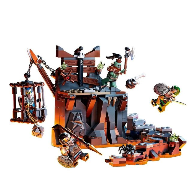 Lego Ninjago 71717 de Kerkers van Skull